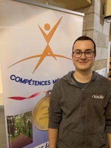 Électricité : Antoine Michaud, 4e position.